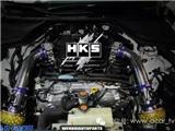英菲尼迪Q50S升级改装HKS进气冬菇套件,欧卡改装网