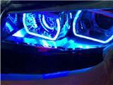 【郑州新视界改灯】长安CS75改灯 日行灯 恶魔眼,欧卡改装网,汽车改装