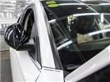 Audi 奥迪 A6 贴膜改色 PWF糖果白 施工中,欧卡改装网