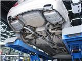 宝马5系升级535方口中尾段排气,欧卡改装网,汽车改装