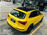 奥迪Q5车身改色电光黄魅金效果欣赏作品,欧卡改装网,汽车改装