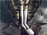 奥迪A7安装repose排气中尾段带阀门,欧卡改装网,汽车改装