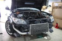 SUBARU WRX9发动机锻造强化拆解篇,欧卡改装网