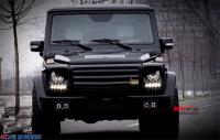 奔驰G 改装碳纤维灯罩 龙眼LED灯 黑月之眼灯罩,欧卡改装网