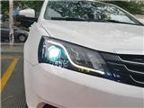 吉利EC7改精刚海拉5双光透镜+精刚X5安定器,欧卡改装网,汽车改装