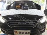 清远汽车改装——哈弗H6升级路美功放,欧卡改装网,汽车改装