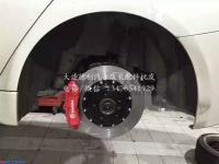 宝马安装布雷博BremboGT竞技刹车效果,欧卡改装网,汽车改装