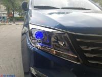 风行S500升级精刚海拉5双光透镜+精刚安定器,欧卡改装网,汽车改装