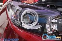 马自达骏昇升级改装精刚海拉5双光透镜,欧卡改装网,汽车改装