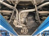 奥迪A6L升级台湾CENDE森德高性能排气,欧卡改装网,汽车改装