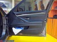 宝马5系汽车音响改装案例,欧卡改装网,汽车改装