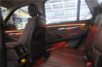壹捷石家庄桥西宝马X5加装3色9模式氛围灯,欧卡改装网,汽车改装