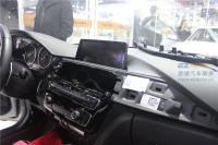 宝马320li原厂NBT大屏施工效果展示图,欧卡改装网,汽车改装