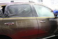 讴歌MDX汽车美容德国SONAX镀晶施工,欧卡改装网,汽车改装