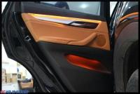 宝马X6氛围灯+电动折叠后视+原厂前雷达,欧卡改装网,汽车改装