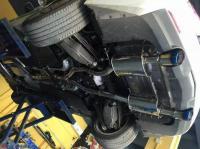 凯迪拉克ATSL改AOOAS中尾双出排气,欧卡改装网,汽车改装