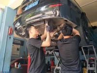 宝马525LI改M5款AOOAS可变阀门排气,欧卡改装网,汽车改装