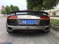 奥迪R8碳纤维双层尾翼,欧卡改装网,汽车改装