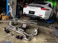 保时捷911改装升级Armytrix中尾段排气,欧卡改装网,汽车改装