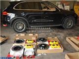 卡宴升级Brembo GT前六后四黄色套件,欧卡改装网,汽车改装