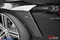 新款奔驰W222改装BRABUS碳纤叶子板,欧卡改装网,汽车改装