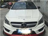 奔驰CLA 级W117 碳纤前包角前唇,欧卡改装网,汽车改装