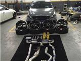 A45 AMG改RAYS轮毂+PSSFDE+KW避震,欧卡改装网,汽车改装