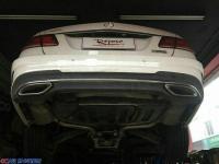 奔驰E级 改装repose中尾段阀门排气,欧卡改装网,汽车改装