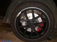 奔驰GL350前AMG六活塞改装AMG四活塞,欧卡改装网,汽车改装