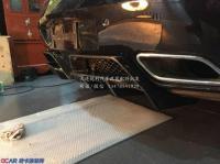 奔驰SLS改装碳纤维后唇尾唇,欧卡改装网,汽车改装
