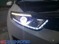 dx7改装氙气灯+天使眼+跑马转向泪眼灯,欧卡改装网,汽车改装