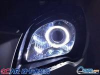 老狮跑全程自己动手改精刚海5双光透镜,欧卡改装网,汽车改装