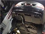 宝马E90 330改装RES排气中尾段,欧卡改装网,汽车改装