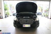 斯巴鲁傲虎升级海拉6氙气灯双光透镜,欧卡改装网,汽车改装