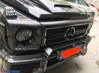 奔驰G55 W463改装碳纤维包围 前杠,欧卡改装网,汽车改装