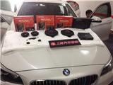 宝马5系升级德国伊顿无损对插安装音响,欧卡改装网,汽车改装