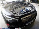西安英菲尼迪Q50加装锻造气腔法兰合辑,欧卡改装网,汽车改装