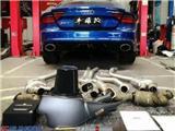 奥迪RS7改装ARESCLAN(战神)阀门排气,欧卡改装网,汽车改装