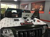 丰田普拉多升级德国RS音符三分频音响,欧卡改装网,汽车改装