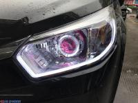 启辰R50升级灯光 精刚KUS双光透镜+KUS安定器,欧卡改装网,汽车改装