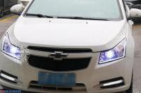科鲁兹升级精刚KUS双光透镜+KUS氙气灯,欧卡改装网,汽车改装