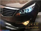 智跑升级海拉5双光透镜+飞利浦氙气灯,欧卡改装网,汽车改装