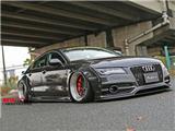 奥迪A7 Audi S7改装LB宽体大包围,欧卡改装网,汽车改装