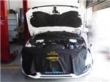 奥迪Q5引擎盖隔音改装 引擎盖隔音覆膜,欧卡改装网,汽车改装