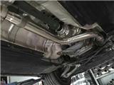 奥迪A5 2.0T改装RES高流量三元头段,欧卡改装网,汽车改装