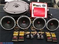 新皇冠音响改装丹麦绅士宝RX+歌航DSD云主机,欧卡改装网,汽车改装