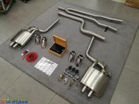 宝马525改装HSR中尾段阀门排气,欧卡改装网,汽车改装