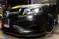 CLA45 AMG 车身贴膜、拉花、轮胎贴字,欧卡改装网
