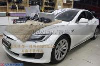 特斯拉MODEL S改装德国伊顿 pro175.2 两分频,欧卡改装网,汽车改装