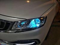 吉利博瑞车灯改装升级,欧卡改装网,汽车改装